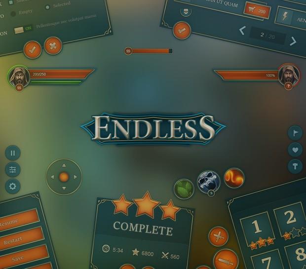 Endless Mobile UI