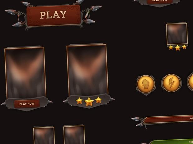 Fantasy UI - Tribal