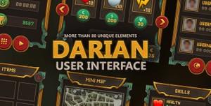 Fantasy UI - Darian