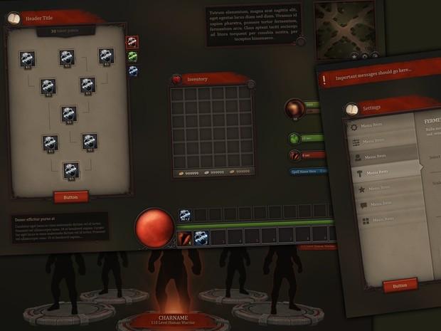 Fantasy UI - Bloodline