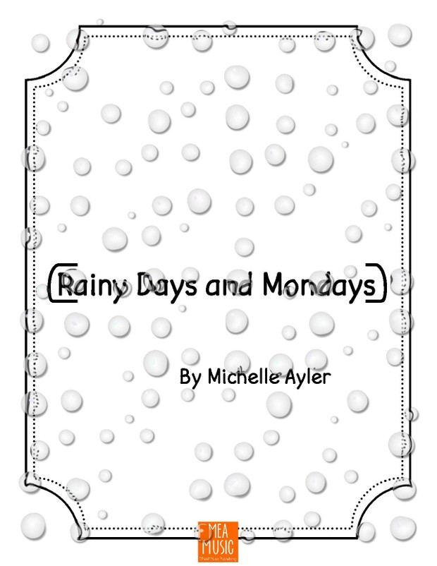 Rainy Days and Mondays: Easy Piano Song