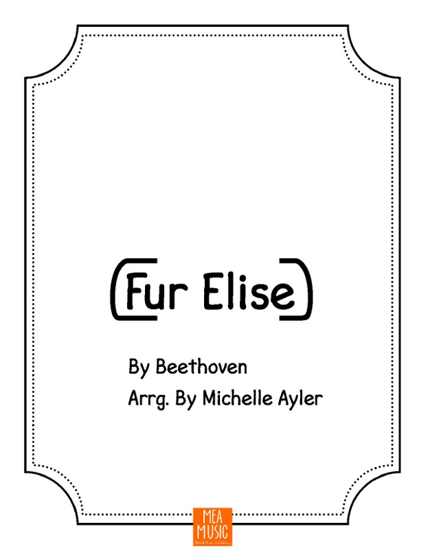 Easy Piano Fur Elise: Easy Piano Song
