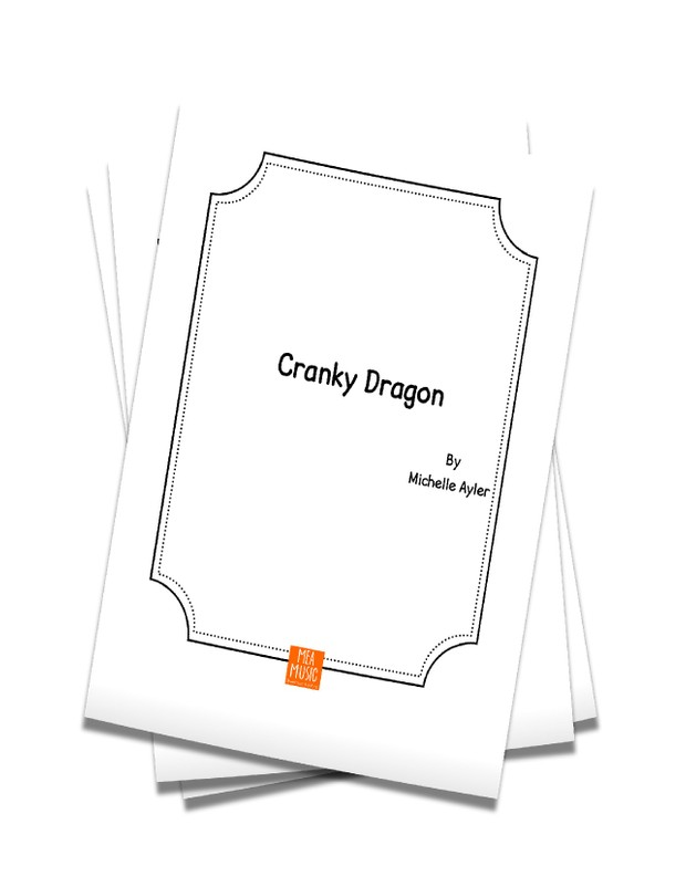 Cranky Dragon: Easy Piano Song