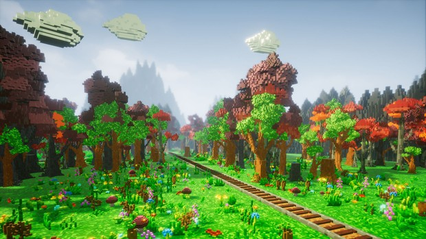 Pro-VOX Uncharted Voxel Nature Pack [ Unreal Engine 4 ]
