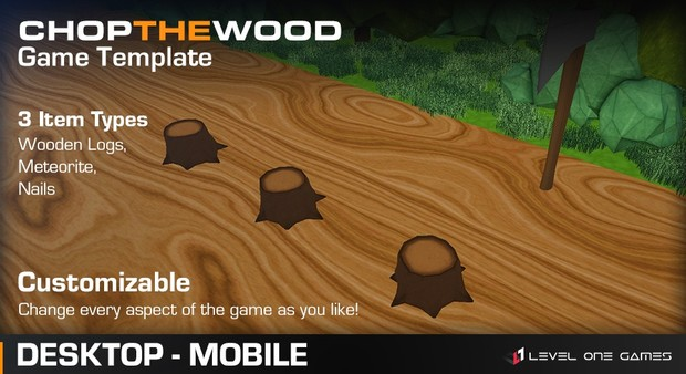 Chop The Wood - Game Template [ Unreal Engine 4 ]