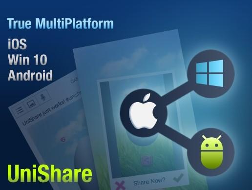UniShare v2.0 - [Unity3D Engine]