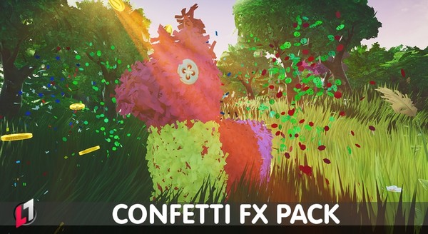 Confetti FX Pack - UE4
