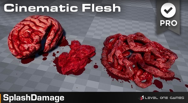 Splash Damage - Intestines Guts FX PRO