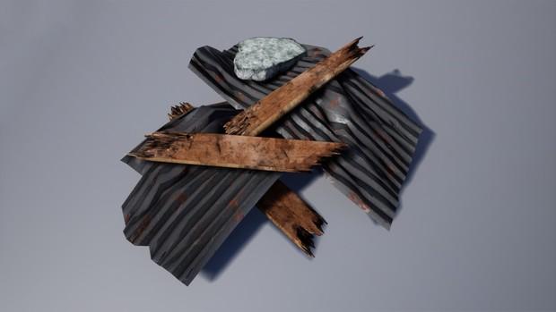 Debris Pack - Salvage & Props [ Unreal Engine 4 ]