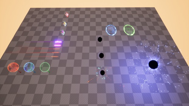 Mega Sci-Fi Particle FX Bundle 3in1 [ Unreal Engine 4 ]