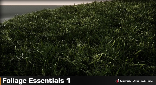 Foliage Essentials 1 - Grass & Green Pack [ Unreal Engine 4 ]
