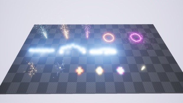Machinery Particle FX [ Unreal Engine 4 ]
