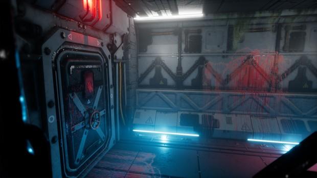 Pro-TEK Sci-Fi PBR VR Horror Corridor [ Unreal Engine 4 ]