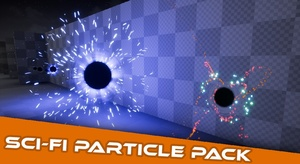 Sci-Fi Particle Projectile FX Pack #1 [ Unreal Engine 4 ]