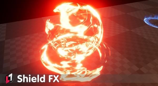 Shield FX - UE4