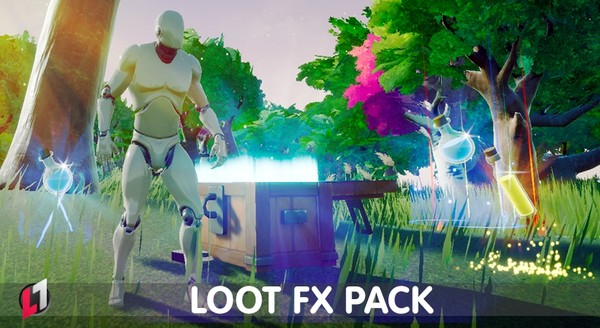 Loot FX Pack - Unreal Engine 4 Marketplace