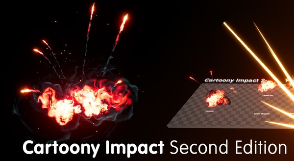 Cartoony Impact 2 - UE4