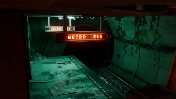 Metro 15 - Environment Pack [ Unreal Engine 4 ]