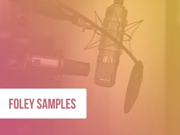 122 Foley Samples