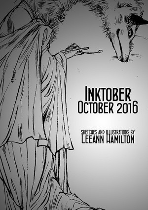 Inktober 2016 Sketchbook