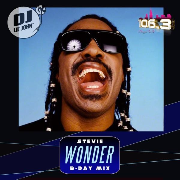 Stevie Wonder's 70th Birthday Mix