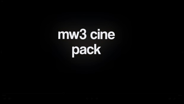 MW3 Cinematic Pack #2