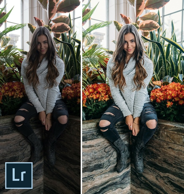 Lucy Martin - FREE Lightroom Preset