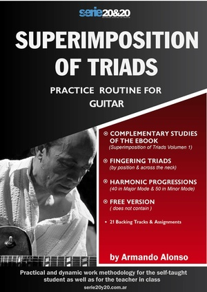 GUITAR / Donation - Superimposition of Triads
