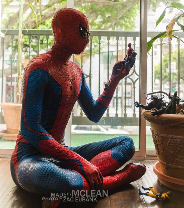 MadebyMcLean Amazing Spider-Man 1 Dye-Sublimation Ready Print
