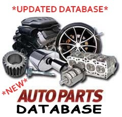 Auto Parts For Sale >> New Auto Parts Database For Sale Make Model Trim Engine Year And Brand From Year 1978 2020
