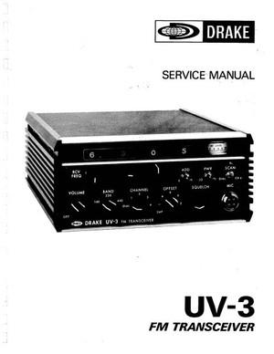 Drake UV3 Service Manual
