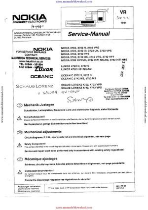 Nokia 3782 Service Manual