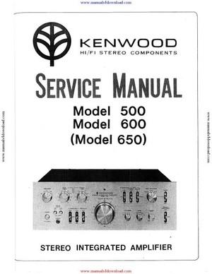 Trio 600 Service Manual
