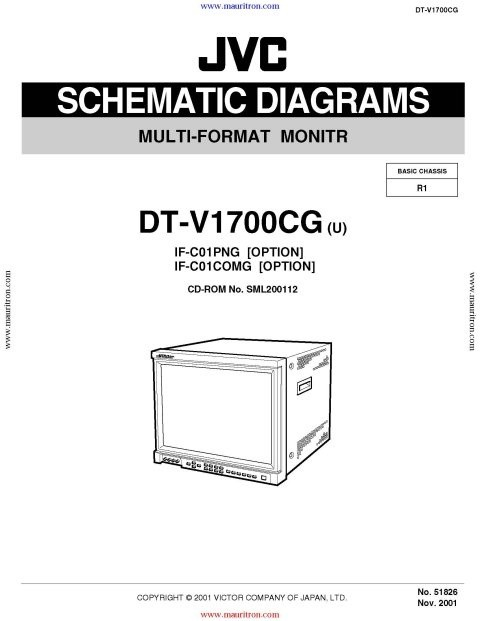 JVC DT-V1710 Service Manual