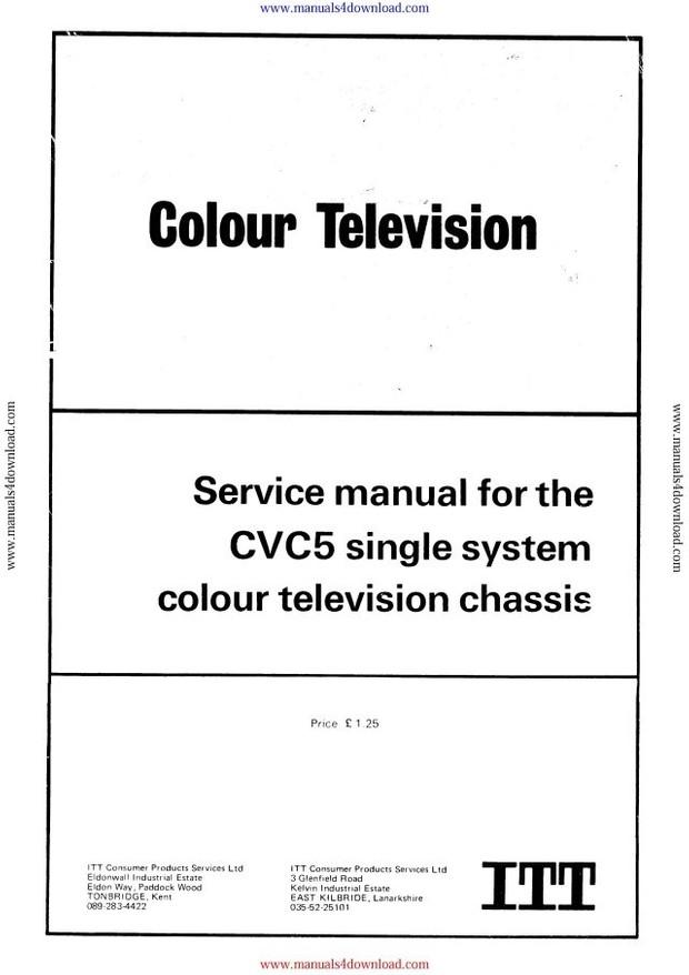 ITT CVC5 Service Manual