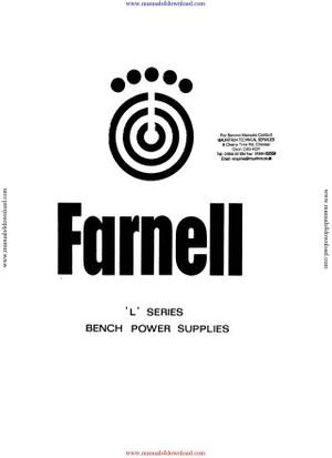 Farnell L30B Instruction Manual