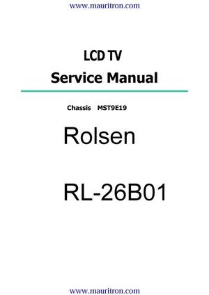 Bush LY2211WCW Service Manual