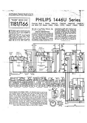 Philips 1747U Service Schematics