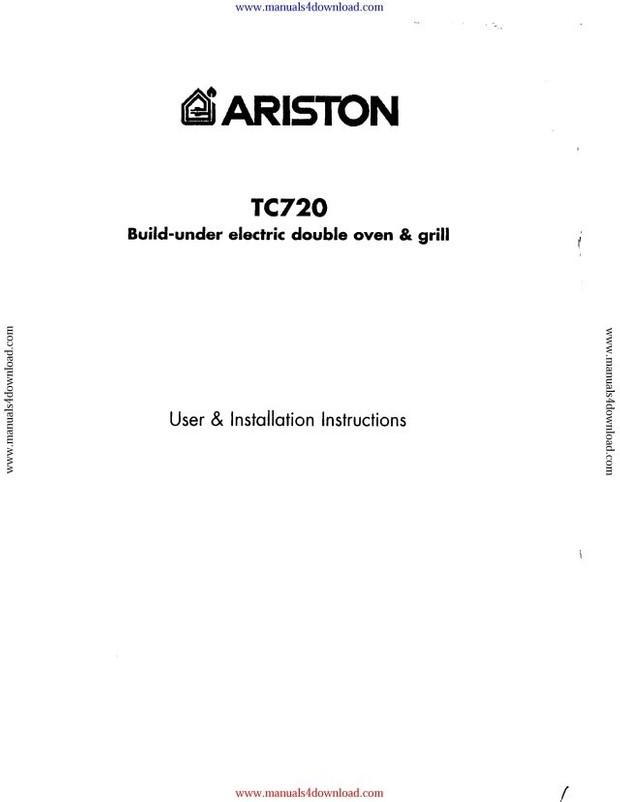 Ariston TC720 Guide