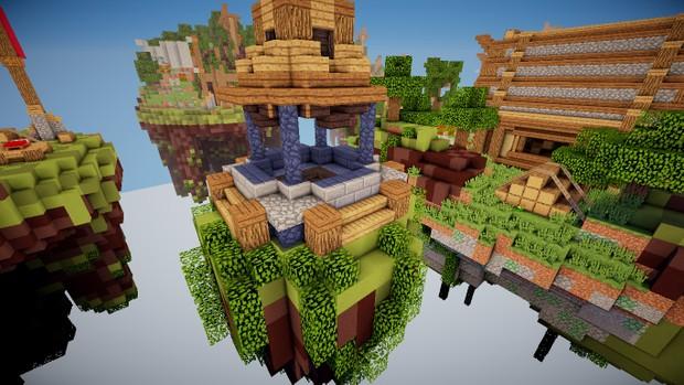Medieval Village Bedwars Arena Solo/Dubbles