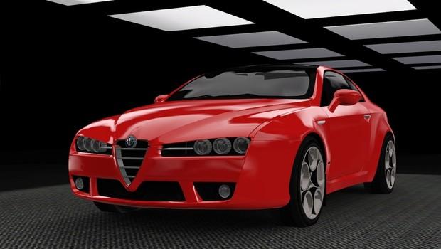 2009 Alfa Romeo Brera For The Sims 3