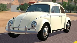 1966 Volkswagen Beetle 1200 For The Sims 3