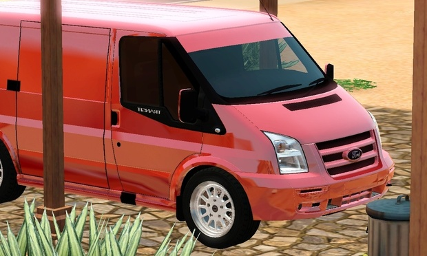 2011 Ford Transit SSV For The Sims 3