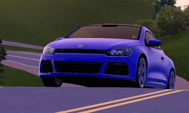 2010 Volkswagen Scirocco R For The Sims 3