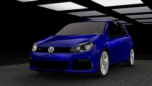 2012 Volkswagen Golf VI R For The Sims 3