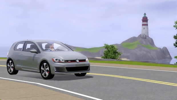 2016 Volkswagen Golf GTI For The Sims 3