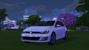 2016 Volkswagen Golf GTI For The Sims 4