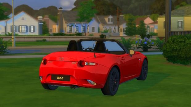 2016 Mazda MX-5 For The Sims 4