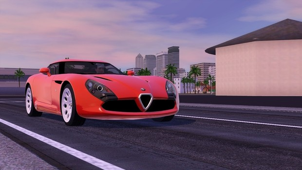 2012 Alfa Romeo TZ3 Stradale For The Sims 3