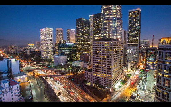 0012 LOS ANGELES DOWNTOWN NIGHT